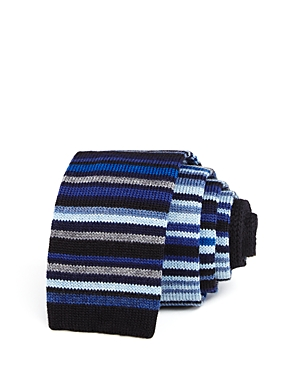 Paul Smith Multi-Striped Wool Skinny Tie