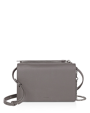 Allsaints Fetch Large Leather Chain Wallet Crossbody