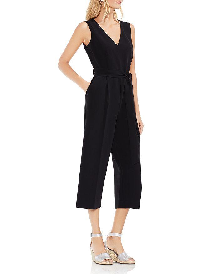 VINCE CAMUTO - Belted Crop Jumpsuit