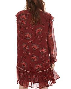 Scotch & Soda - Lace-Up Ruffle Dress