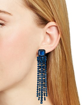 kate spade new york - Chain Fringe Earrings