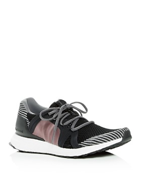 adidas by Stella McCartney -  Women's Ultraboost Knit Lace Up Sneakers
