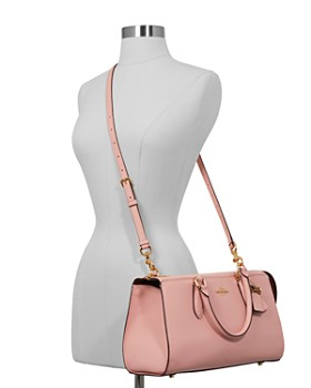 COACH - x Selena Gomez Bond Leather Satchel