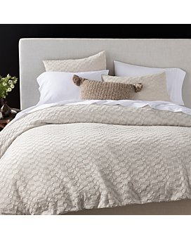 Coyuchi - Organic Cotton Undyed Crystal Cove Bedding Collection