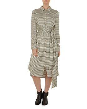 2e984119435a66 Ted Baker - Colour by Numbers Sandre Striped Shirt Dress ...