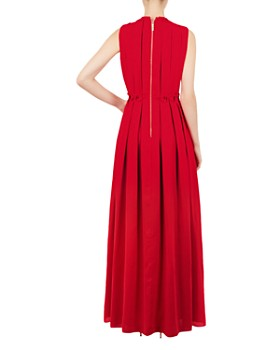 Ted Baker - Saffrom Origami Pleated Gown