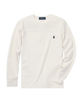 Ralph Lauren - Boys' Waffle-Knit Shirt - Big Kid