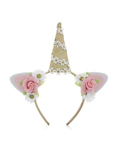 Capelli Girls' Floral Unicorn Headband - Bloomingdale's_0