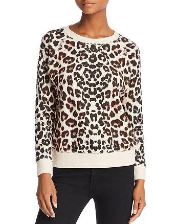 e71149fa7558 MOTHER The Square Leopard Print Sweatshirt | Bloomingdale's
