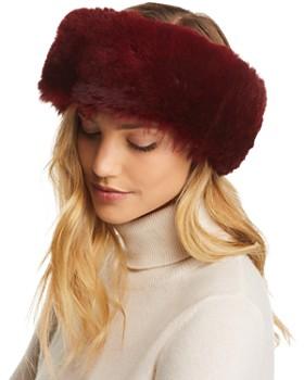 Maximilian Furs - Sheared Mink Fur Headband