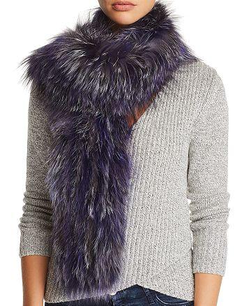 Maximilian Furs - Knit Fox Fur Scarf - 100% Exclusive