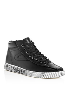 Tretorn - Men's Nylite Leather High Top Sneakers