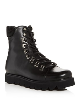 KARL LAGERFELD Paris - Men's Leather Boots