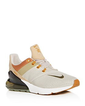 Nike - Men's Air Max 270 Premium Leather Lace Up Sneakers
