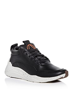 McQ Alexander McQueen - Men's Gishiki Hybrid Leather Lace Up Sneakers