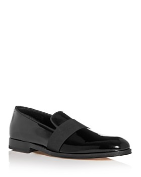 Paul Smith - Men's Rudyard Patent Leather Smoking Slippers