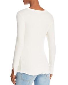 LNA - Fine-Rib Long-Sleeve Sweater
