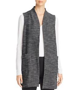 Eileen Fisher - Textured Knit Long Vest