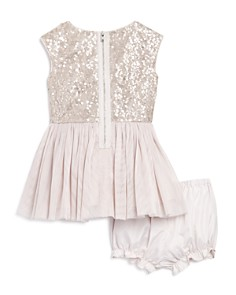 Pippa & Julie - Girls' Sequin Tutu Dress & Bloomers Set - Baby