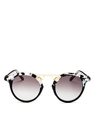 Women's St. Louis Brow Bar Round Sunglasses