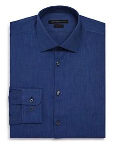 John Varvatos Star USA - Textured Solid Regular Fit Dress Shirt