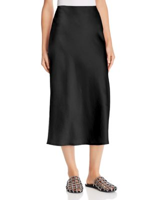Wash & Go Midi Skirt by T By Alexander Wang