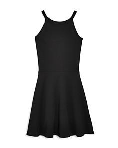 AQUA - Girls' Color-Block Dress, Big Kid - 100% Exclusive