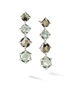 David Yurman Châtelaine Drop Earrings With Prasiolite