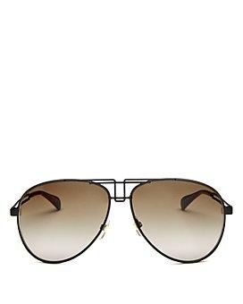 Givenchy - Women's Brow Bar Aviator Sunglasses, 61mm