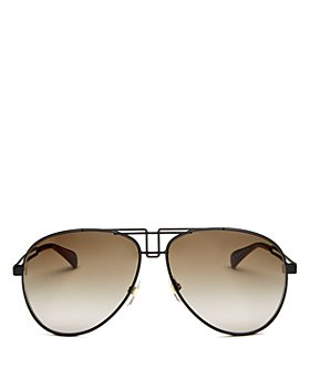 Givenchy - Women's Brow Bar Aviator Sunglasses, 61mm