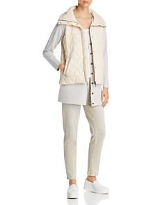 Eileen Fisher - High Collar Puffer Vest