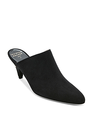 Laurence Dacade WOMEN'S STEFANY SUEDE POINTED-TOE MULES
