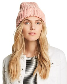 AQUA - Chunky Knit Hat - 100% Exclusive