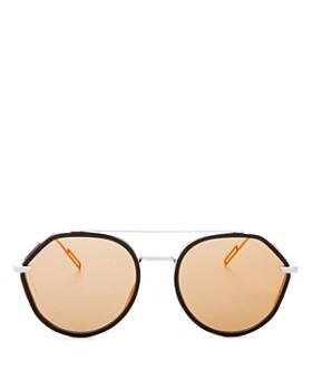 d23f687025 Dior - Men s Vintage Mirrored Brow Bar Round Sunglasses