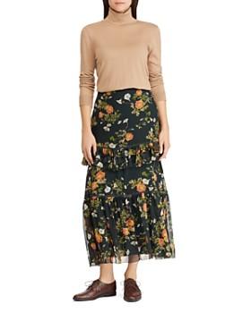 Ralph Lauren - Floral Print Maxi Skirt