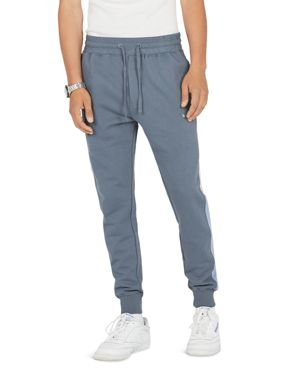 BARNEY COOLS B.Quick Color-Block Track Pants in Vintage Navy
