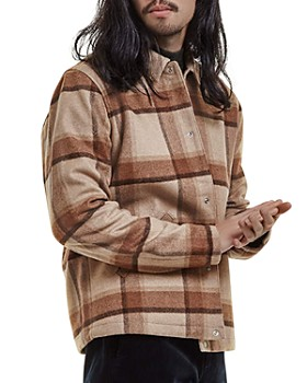 NN07 - Adler Plaid Flannel Jacket