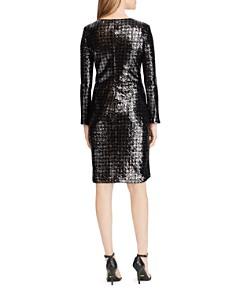 Ralph Lauren - Sequined Houndstooth Dress