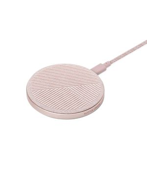 NATIVE UNION Drop Wireless Charger in Rose Pink