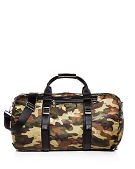 ed7ff8a582873a Michael Kors - Kent Camo-Print Nylon Convertible Duffel Bag ...