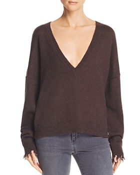 Nation LTD - Bijou Deep-V Boxy Sweater ... 9050441a08f8