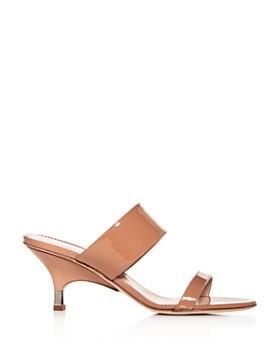 Giuseppe Zanotti - Women's Kitten-Heel Slide Sandals