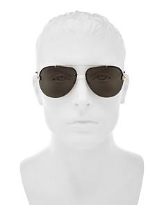 Tom Ford - Men's Brad Brow Bar Aviator Sunglasses, 60mm