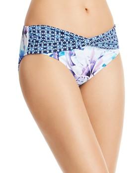 98d55e391d0f5 Tommy Bahama - Aqua Petals High Waist Bikini Bottom ...