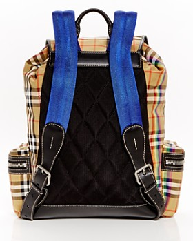 Burberry - Rainbow Vintage Check Backpack