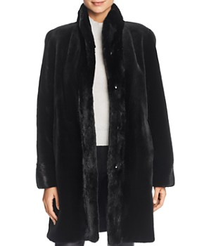 Maximilian Furs - Reversible Sheared Mink Fur Coat