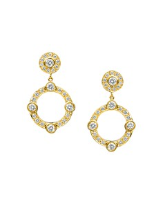Gumuchian - 18K Yellow Gold Carousel Diamond Earrings