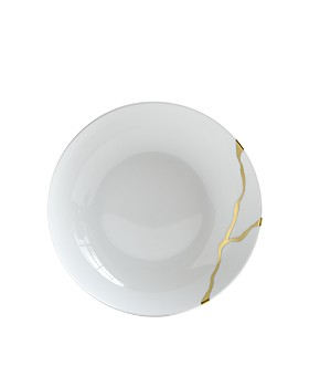 Bernardaud - Kintsugi-Sarkis 24K Gold Coupe Soup Bowl