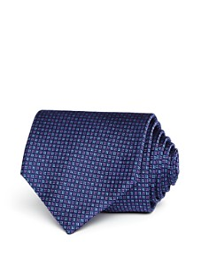 The Men's Store at Bloomingdale's - Micro Grid Classic Tie- 100% Exclusive