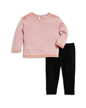Splendid Girls VelvetTrimmed Sweatshirt  Leggings Set  Baby